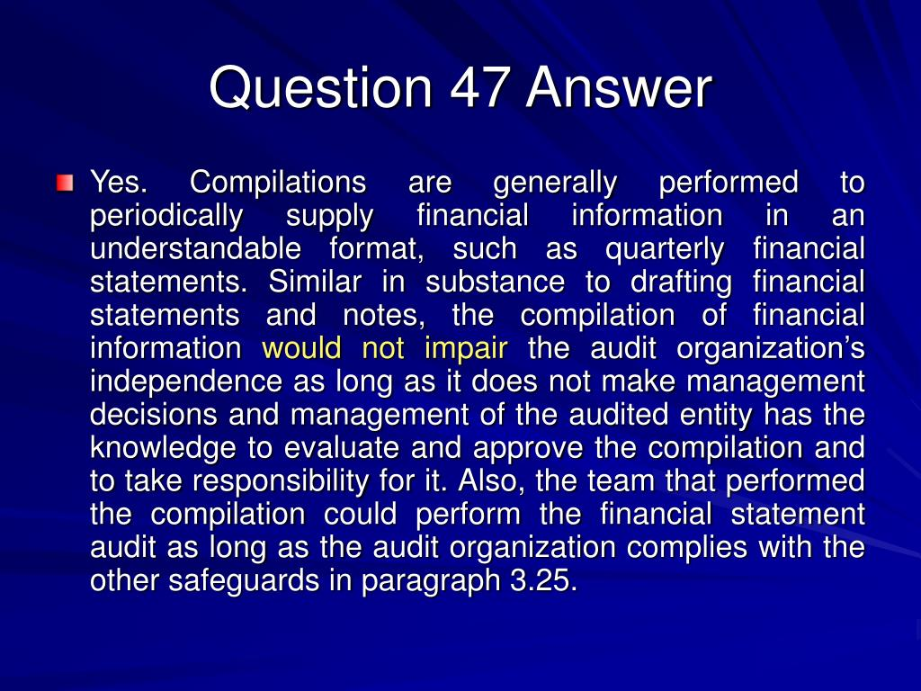 Question 47 Answer
