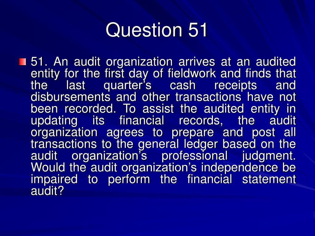Question 51