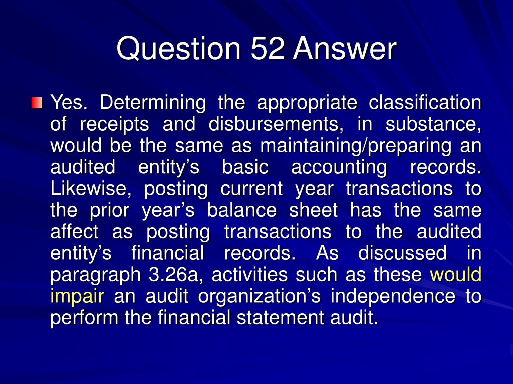 Question 52 Answer