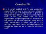 question 54