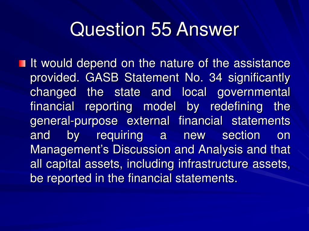 Question 55 Answer