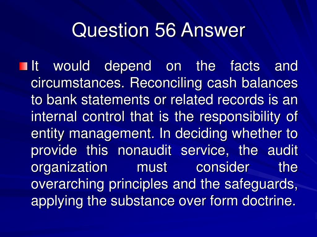 Question 56 Answer