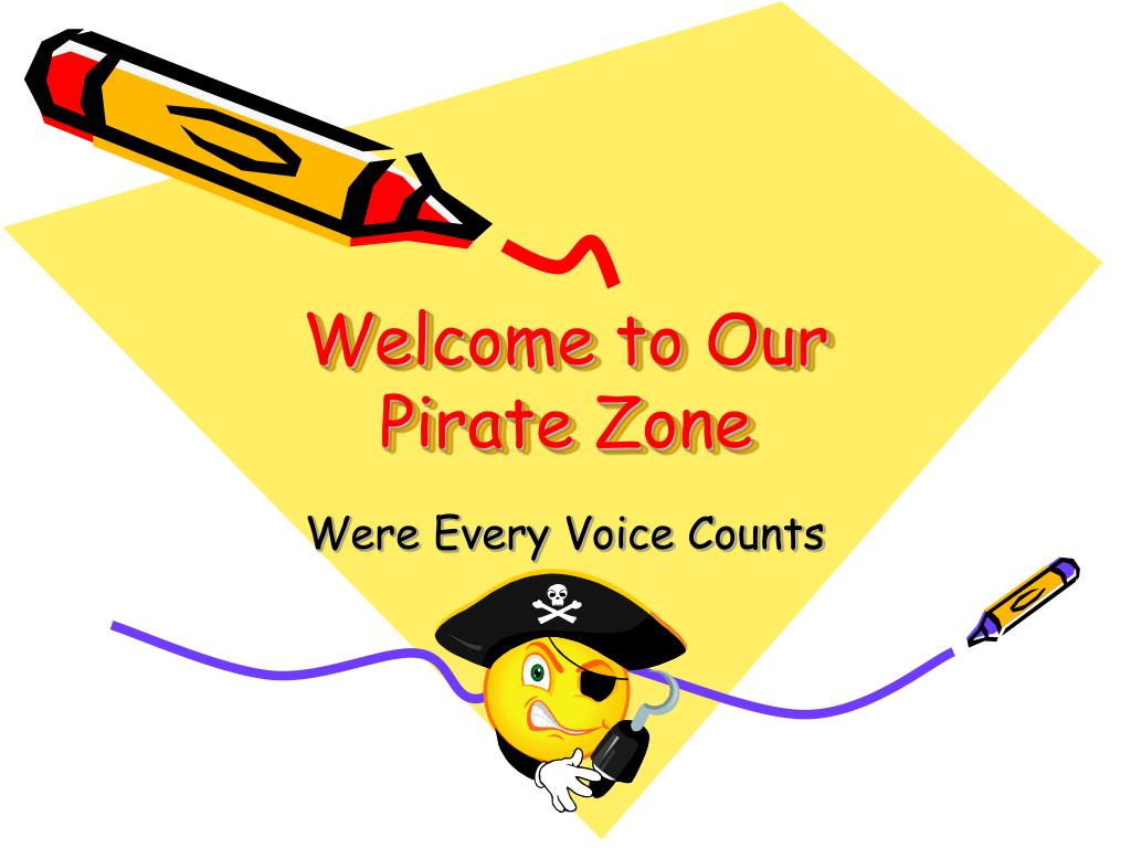 welcome to our pirate zone l.