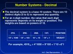 number systems decimal