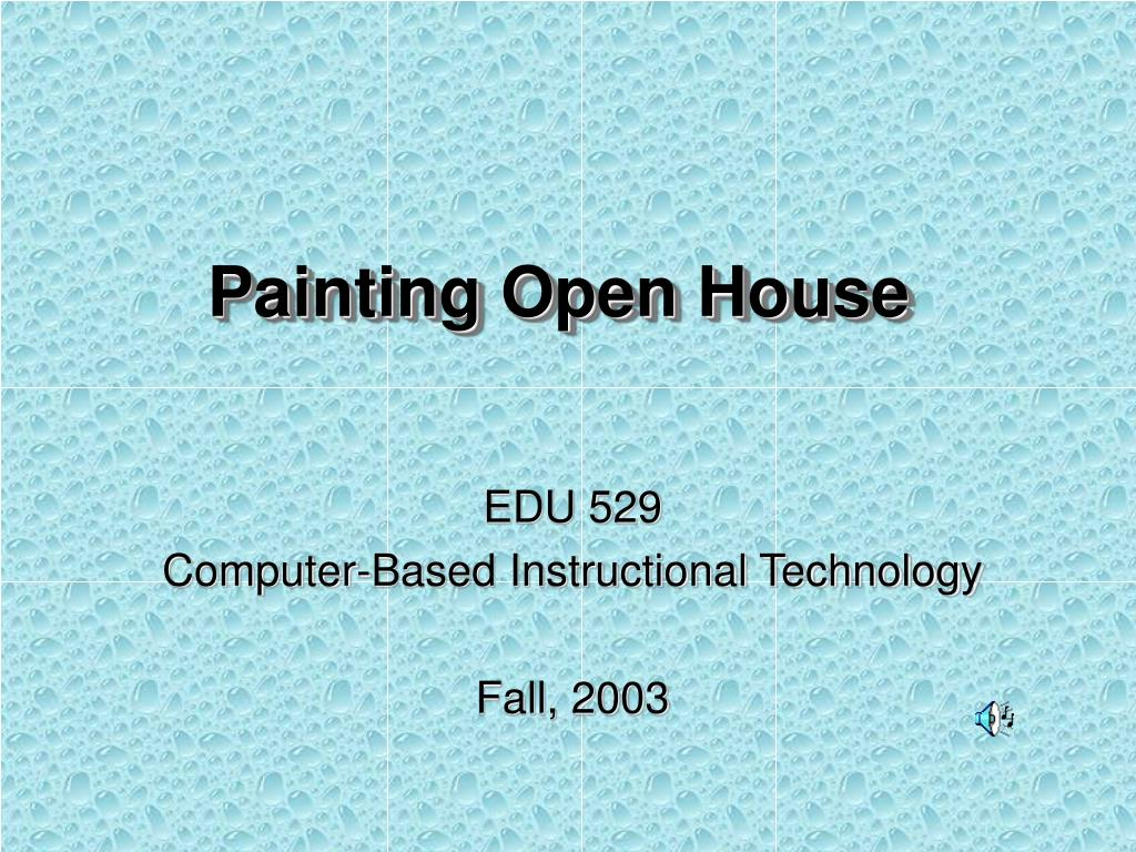 painting open house l.