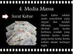 4 media massa