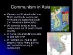 communism in asia