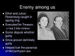 enemy among us