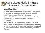 casa museo mar a enriqueta propuesta tercer milenio6