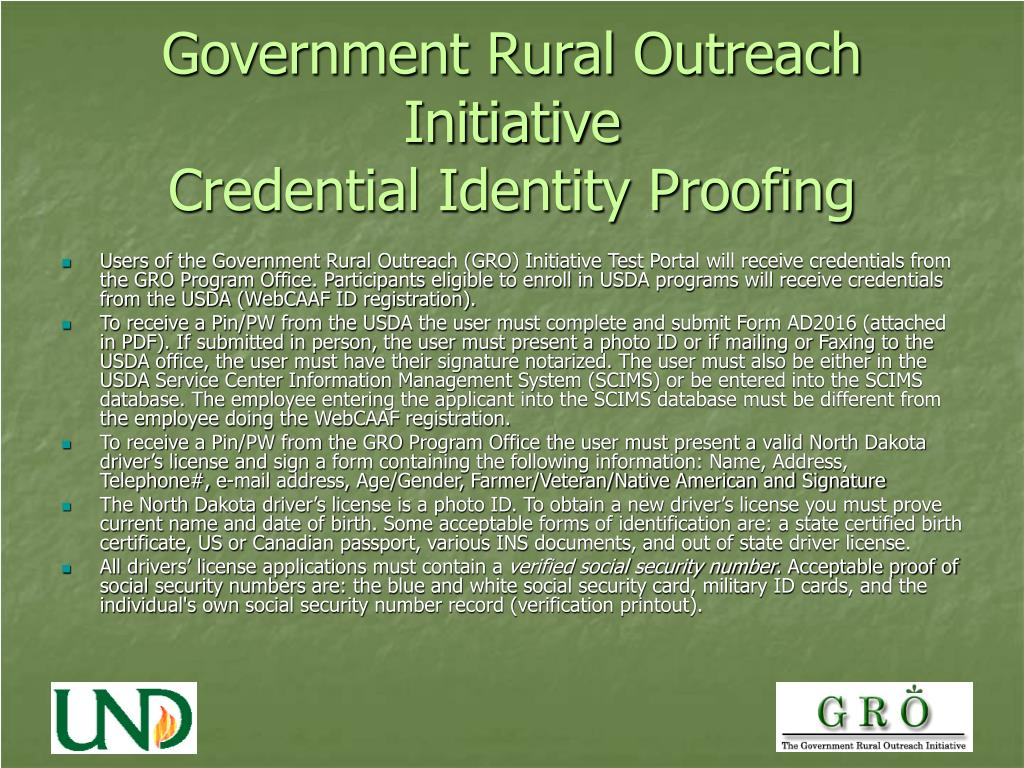 Government Rural Outreach Initiative