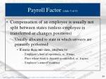 payroll factor slide 3 of 4