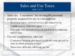 sales and use taxes slide 1 of 3