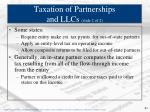 taxation of partnerships and llcs slide 2 of 2