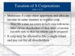 taxation of s corporations slide 2 of 2