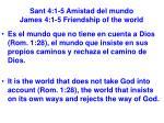 sant 4 1 5 amistad del mundo james 4 1 5 friendship of the world10