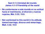 sant 4 1 5 amistad del mundo james 4 1 5 friendship of the world20
