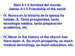 sant 4 1 5 amistad del mundo james 4 1 5 friendship of the world37