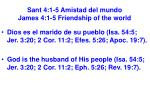 sant 4 1 5 amistad del mundo james 4 1 5 friendship of the world4