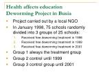 health affects education deworming project in busia34