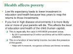 health affects poverty26