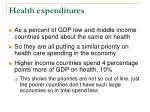health expenditures5