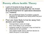 poverty affects health theory19