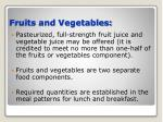 fruits and vegetables19