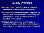quality practices