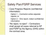 safety plan fsrp services14