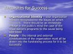 requisites for success15