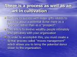 there is a process as well as an art in cultivation