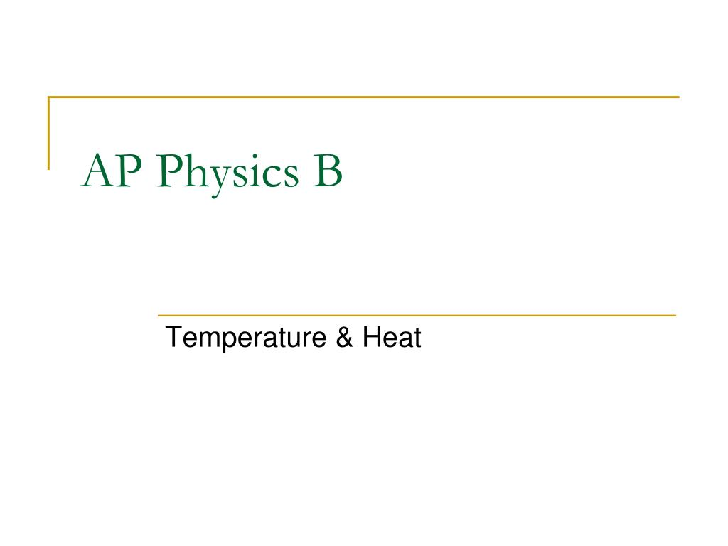 ap physics b l.