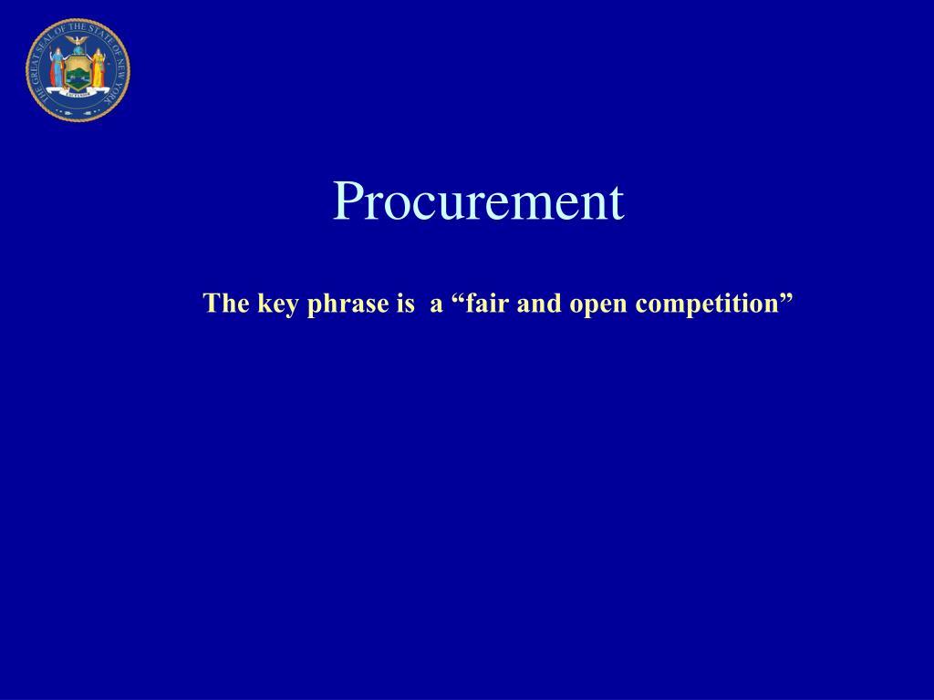 procurement l.