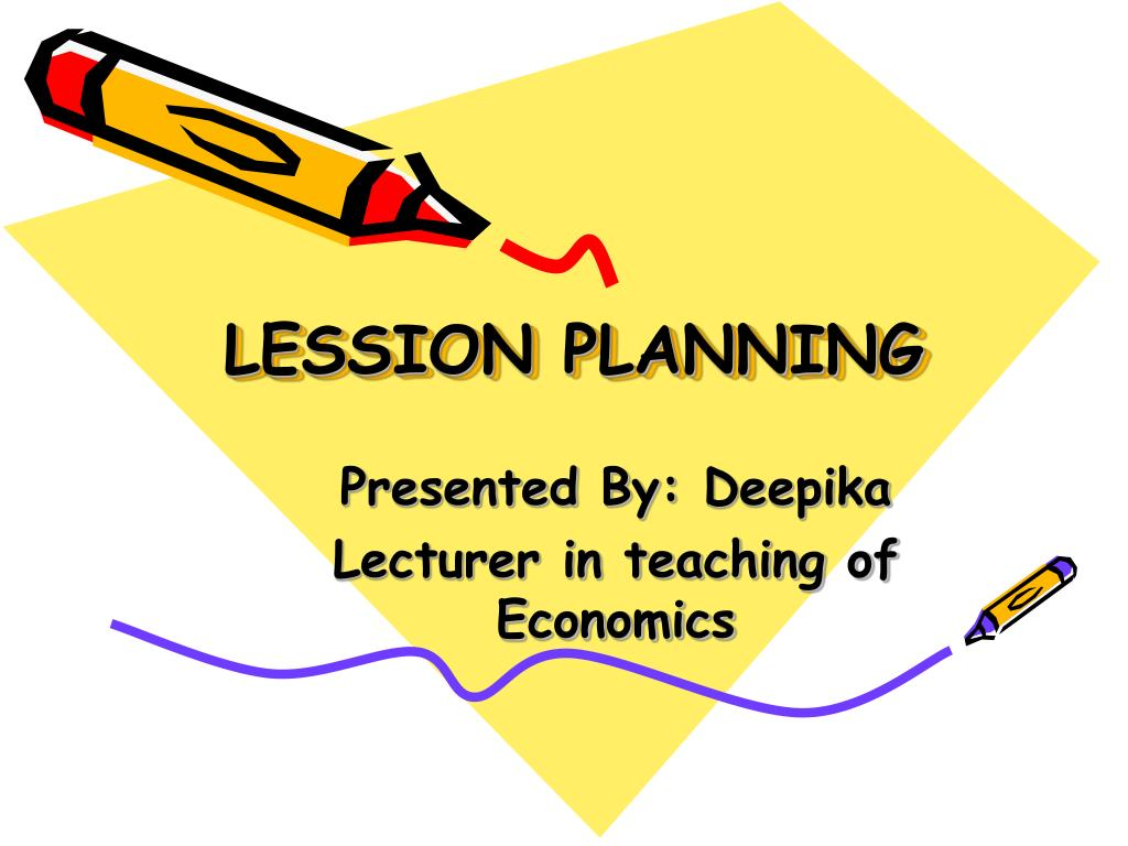 lession planning l.