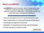 what is my unicco