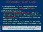 vertragsschlu 861 ff abgb