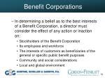 benefit corporations53