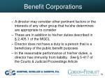 benefit corporations54