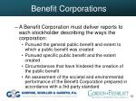 benefit corporations55