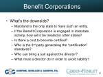 benefit corporations57