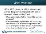 joint ventures38