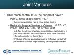 joint ventures39