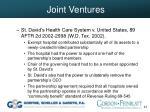 joint ventures42
