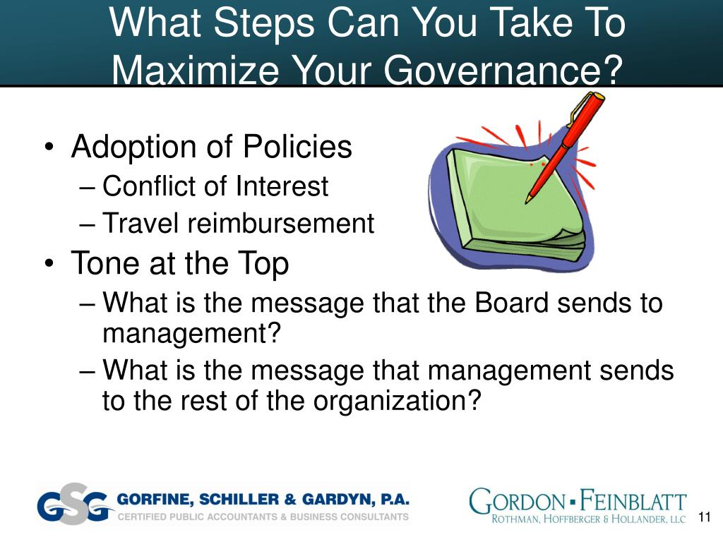 What Steps Can You Take To Maximize Your Governance?