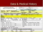 data medical history