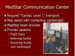 medstar communication center