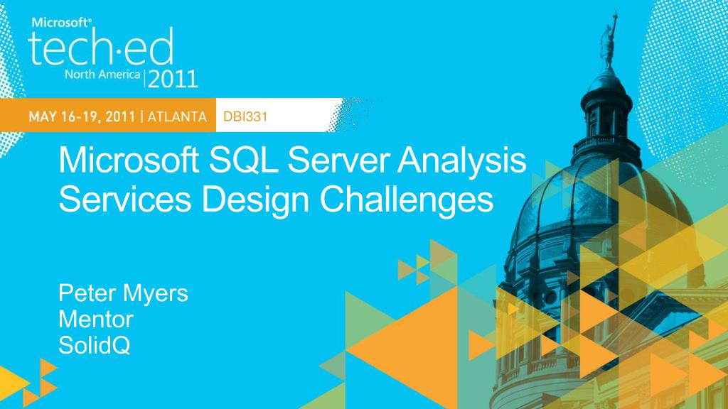 microsoft sql server analysis services design challenges l.
