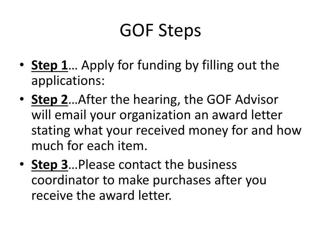 GOF Steps