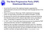 the new progressive party pnp statehood movement