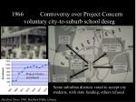 controversy over project concern voluntary city to suburb school deseg18